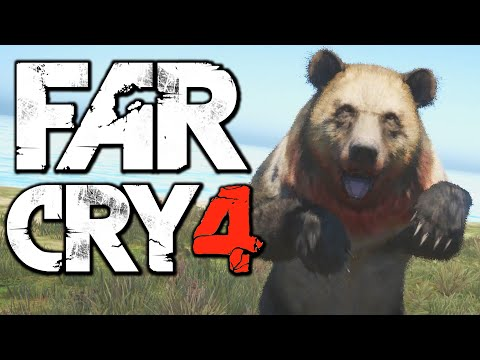 Far Cry 4 Funny Moments (Hunting the Rare Ghost Bear, Hardest Difficulty)