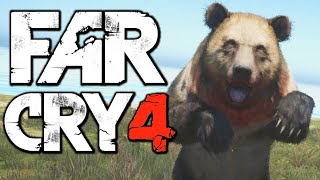Far Cry 4 Funny Moments (Hunting the Rare Ghost Bear, Hardest Difficulty) Thumbnail