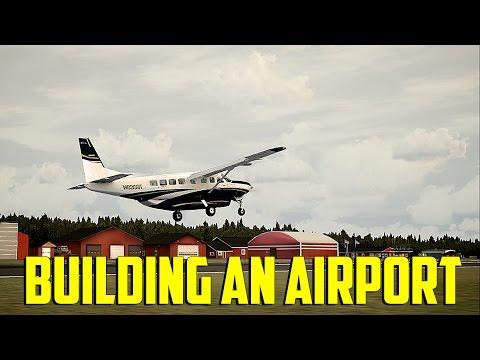 Prepar3d - Building an Airport