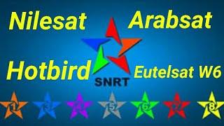 جميع ترددات القنوات المغربية على أربعة أقمار الفضائية والأرضية