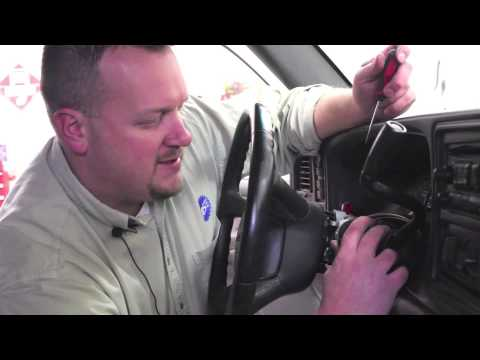 Ignition Lock Cylinder Replacement (late model GM Trucks ...