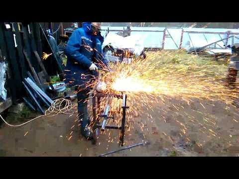 видео: Стойка для УШМ своими руками
