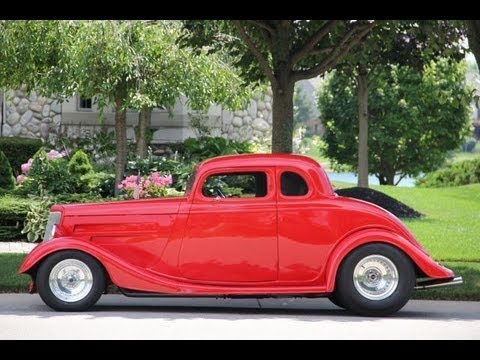 1934 ford coupe street rod classic muscle car for sale in mi vanguard motor sales youtube. Black Bedroom Furniture Sets. Home Design Ideas