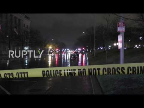 USA: Man in custody and White House security upgraded following bomb scare