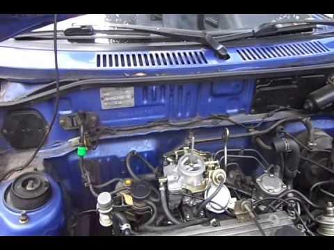 Adaptación de carburador a Kia Pride  YouTube