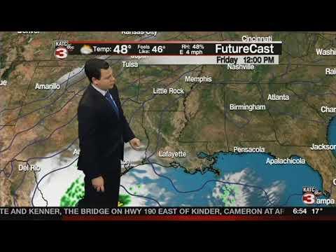 Daniel's Weather Forecast 1/18/2018 - YouTube