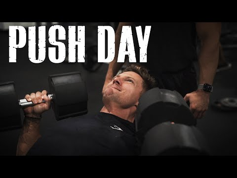 PUSH DAY || Chest, Shoulders & Triceps