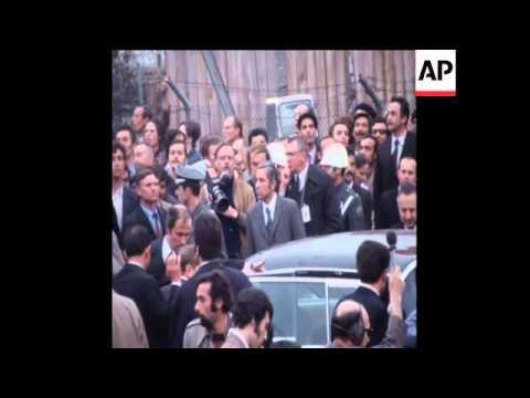 LIB 16-4-72 SOVIET PRESIDENT PODGORNY VISITS THE BOSPHOROUS
