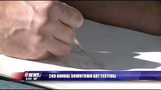 KKCO   2nd Annual Downtown Art Festival 10-7-17
