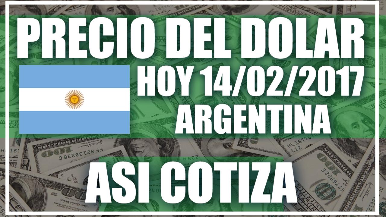 Precio del dolar hoy en argentina hoy 14 de febrero del for Chimentos de hoy en argentina