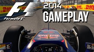 F1 2014 Gameplay - Russian Grand Prix Sochi (First Look)