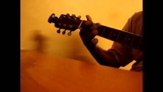 O Mere Dil Ke Chain Guitar Chords