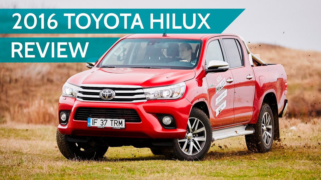 2017 toyota hilux workmate review