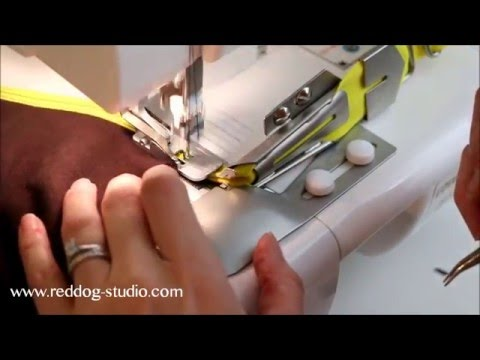 Babylock Coverstitch - Double Fold Binder Attachment