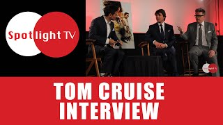 Spotlight TV - Tom Cruise and Christopher McQuarrie Interview - Video