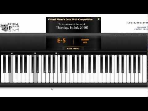 [ Virtual Piano ] Riêng Một Góc Trời With Auto Keyborad
