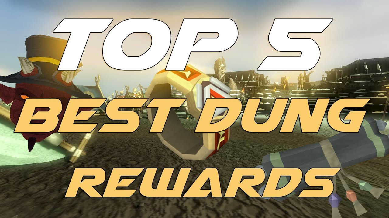 Runescape 3 - TOP 5 Dungeoneering Rewards