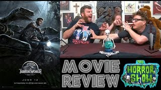 """Jurassic World"" 2015 Dinosaur Sequel Movie Review - The Horror Show"