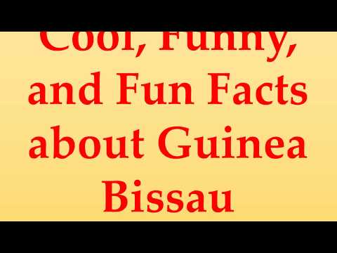 Cool, Funny, and Fun Facts about Guinea Bissau