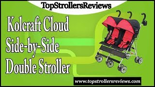 Kolcraft Cloud Side-by-Side Double Umbrella Stroller Review