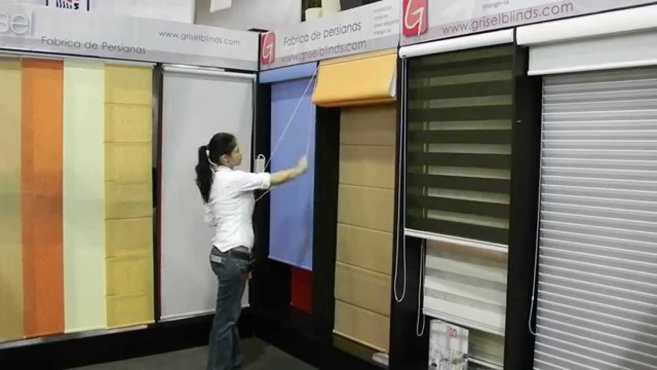 Grisel Blinds  exhibicion de persianas  YouTube