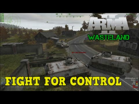 how to play wasteland arma 2