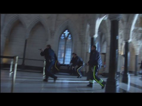 EXCLUSIVE: Parliament Hill gunman shot 31 times