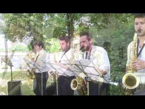 Quintetto sax conservatorio Boito - Parma, diretto Pierluigi Alessandrini 2015