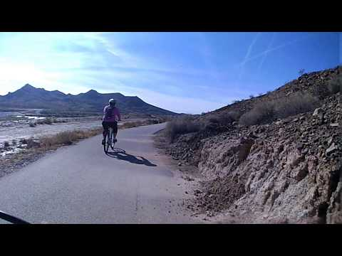Las Vegas Wash North Side Terrazza Park to Sunrise Trailhead Complete Bike  deshaked
