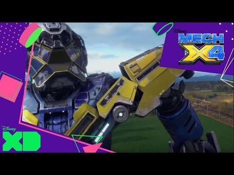 Mech-X4 - Tecno Mech: Robots voladores | Disney XD Oficial