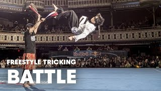 Freestyle Tricking Battle | Red Bull Throwdown 2014