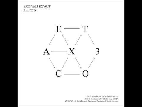 [FULL ALBUM] EXO – EX'ACT [The 3rd Album + Korean Version]