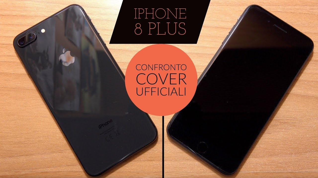 custodia in silicone iphone 8 plus