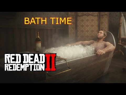 Red Dead Redemption 2 - How To Clean Yourself By Having A Bath