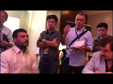 LUCAS MATTHYSSE VS MANNY PACQUIAO MALAYSIA MEDIA ROUND TABLE