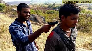Sholay spoof Short film by Gouthamraj Pakshirajapura
