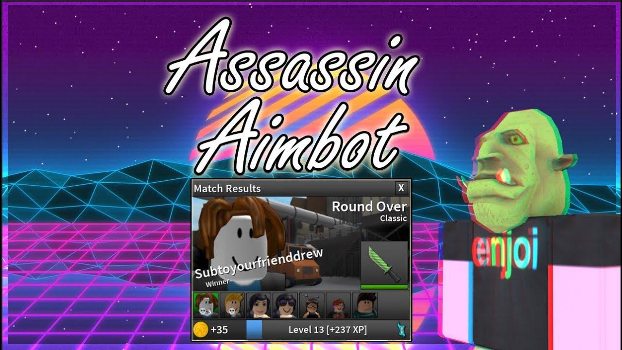 Roblox Assassin Aimbot Script Op Youtube