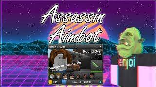 Roblox: Assassin AIMBOT SCRIPT (OP)