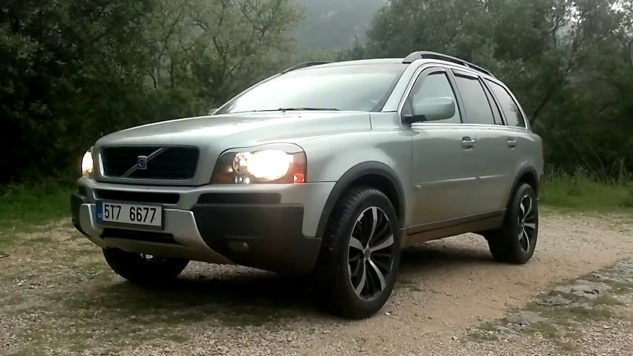 ᴴᴰ 2005 Volvo XC90 D5: On Road & Off Road Test Drive - YouTube