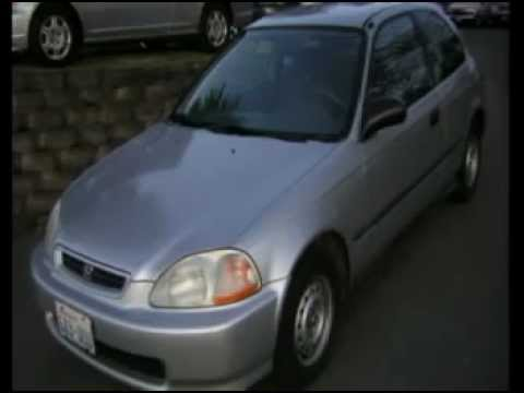 1996 Honda Civic CX Seattle WA