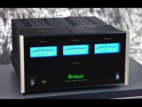 Stereo Design McIntosh MC205 Five Channel Amplifier in HD
