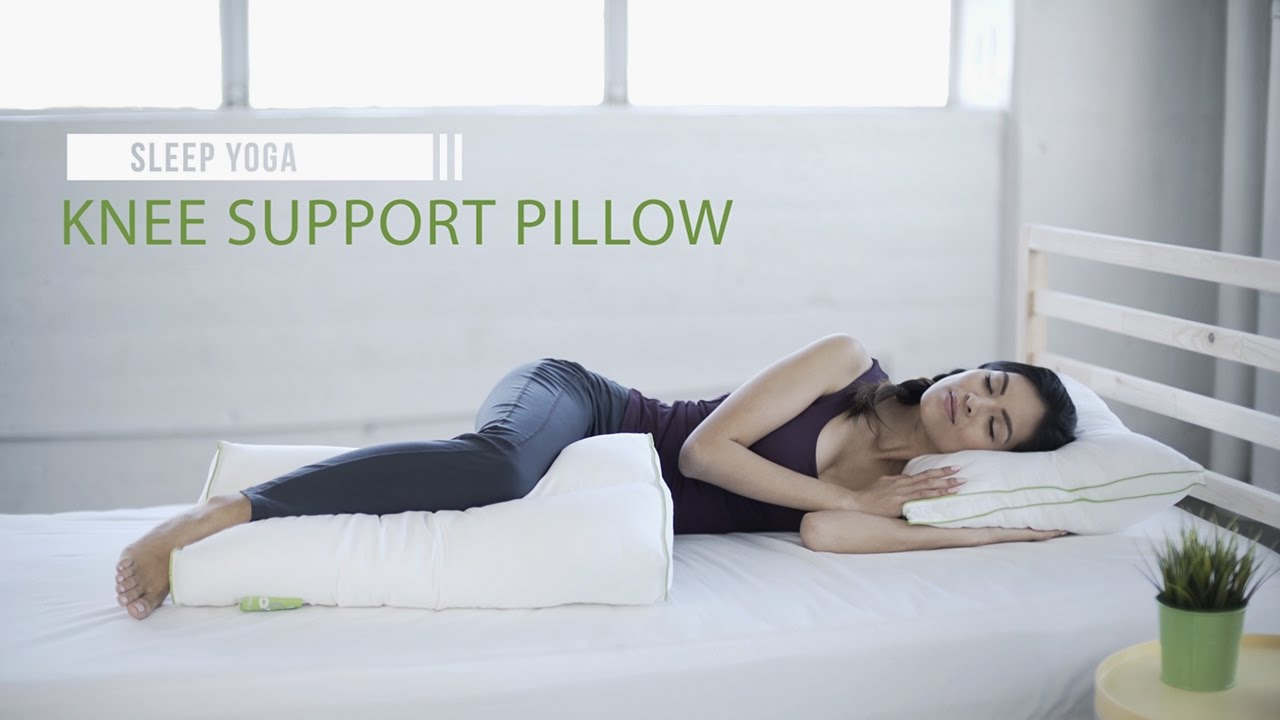 Best Knee Support Pillow For Side Sleeper Sleep Yoga Youtube
