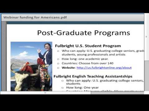 Finding Funding for International Study & Exchange