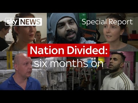 Nation Divided: six months on