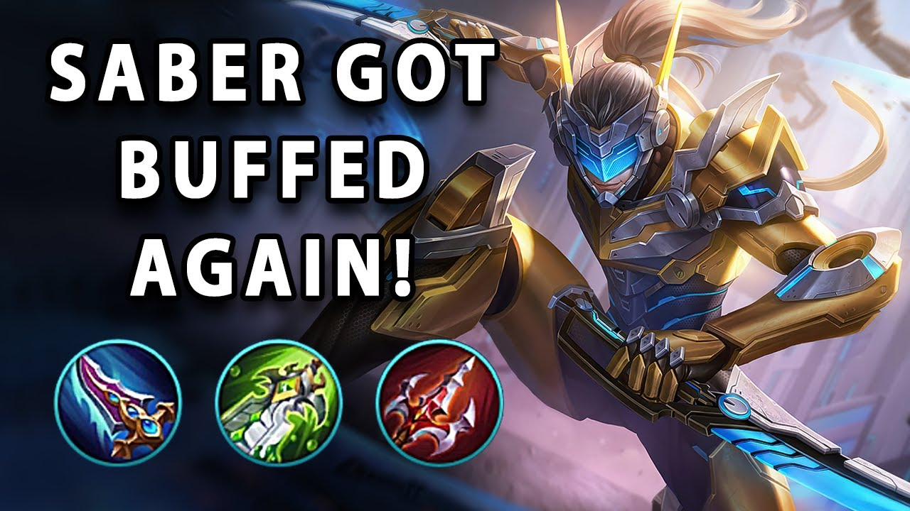 AFTER BUFF, NOW SABER IS THE KING OF ONE SHOT | Mobile Legends
