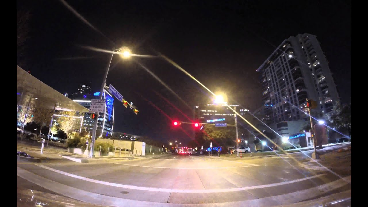 Timelapse Video of Driving Car at Night - Free Video To Download