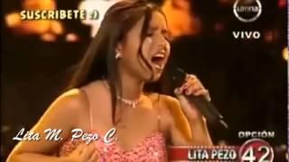 """LITA PEZO canta """"QUERERTE A TI"""""""