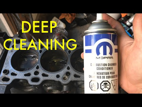 How To Clean Pistons/Head With Mopar Combustion Chamber Cleaner