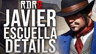 Red Dead Redemption 2 - Javier Escuella Details!