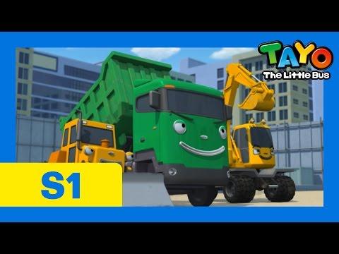 The Best Heavy Equipment (30 mins) l Episode 16 l Tayo the Little Bus